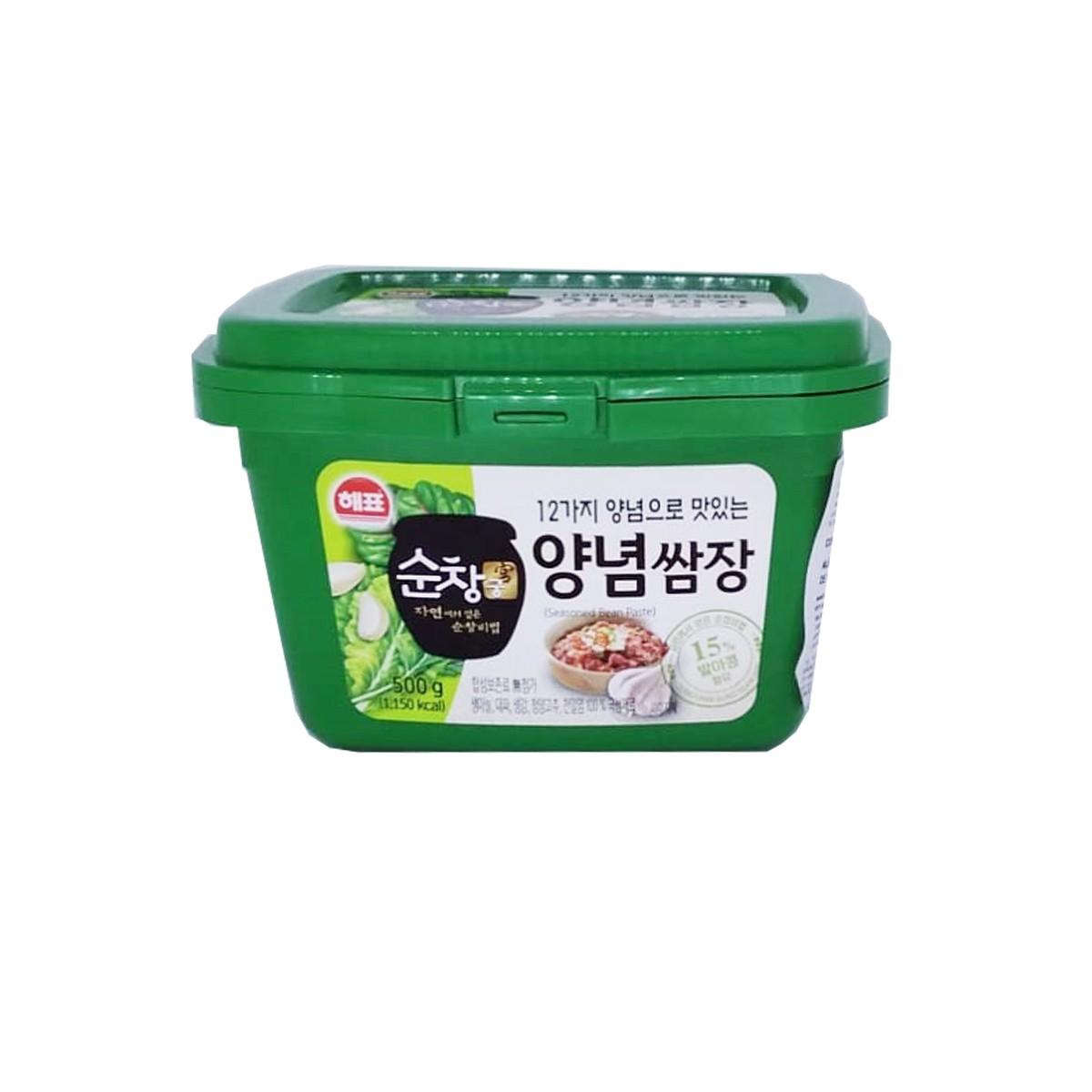 Pasta de Soja Coreano Temperado Ssamjang 500g - Sajo