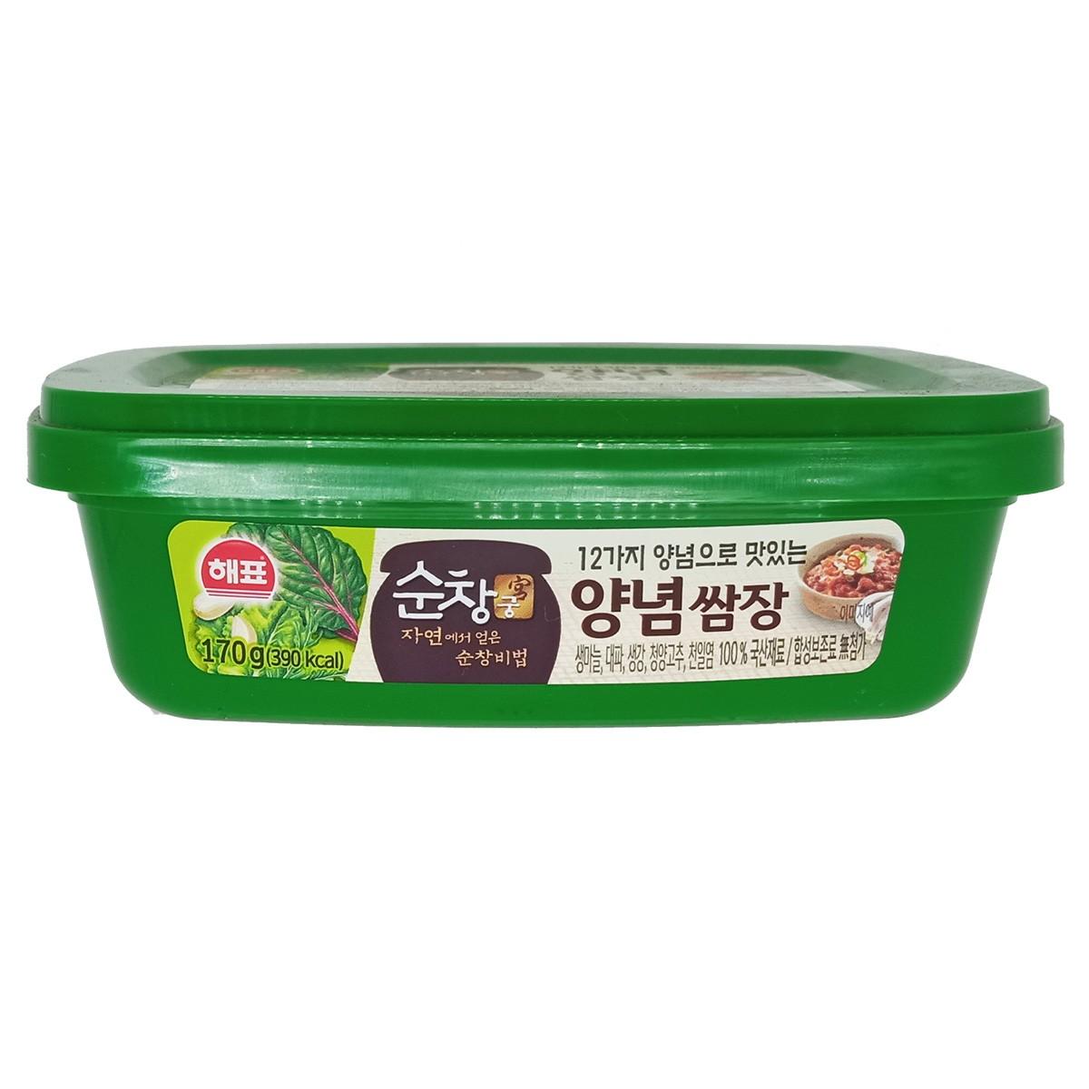 Pasta de Soja Coreana SSamjang Temperada 170g - Sajo