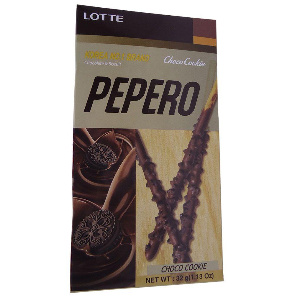 Pepero Palito de Chocolate Choco Cookie 32g - Lotte