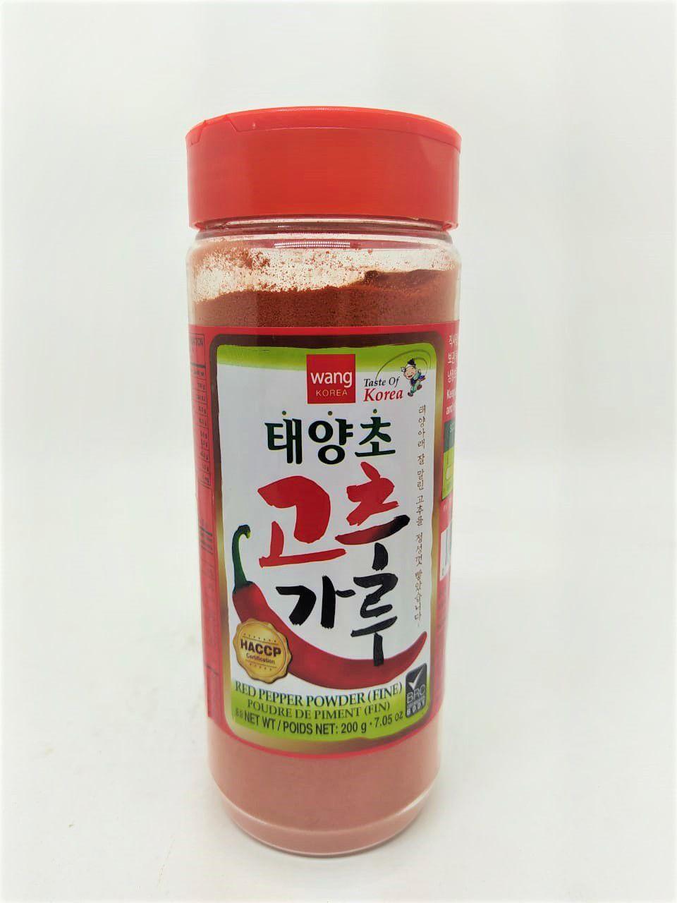 Pimenta em Pó para Kimchi Fino Wang 200g
