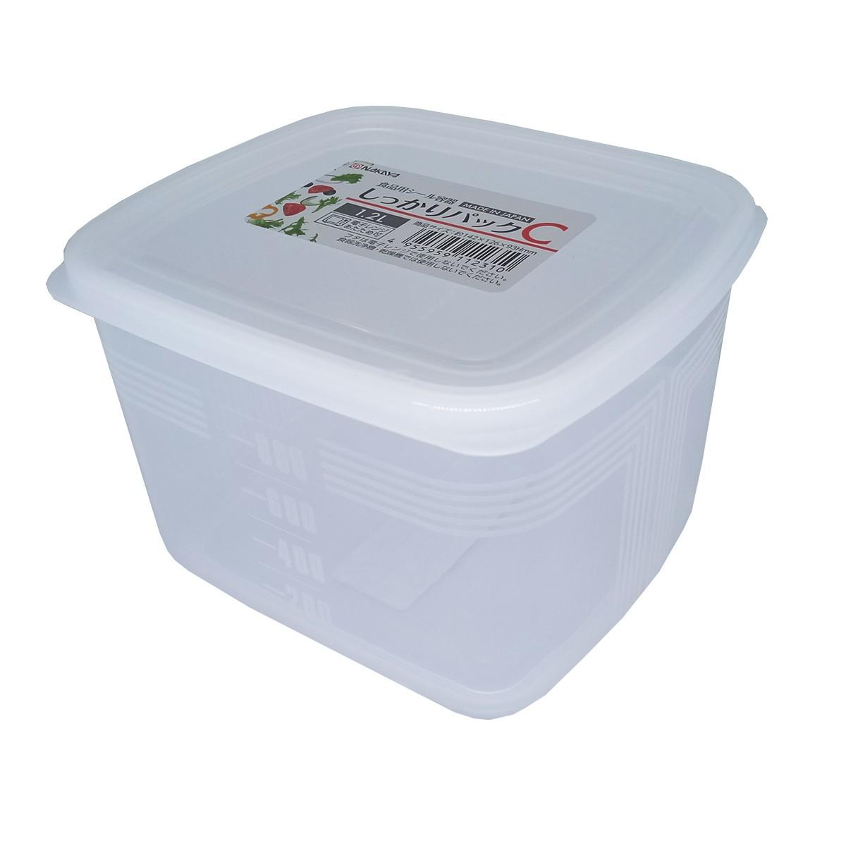 Pote Plástico 1,2L Mod. C K-123 - Nakaya