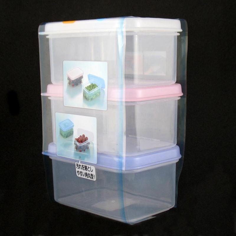 Pote Plástico com 3pc x 200ml Mod. T YA-526