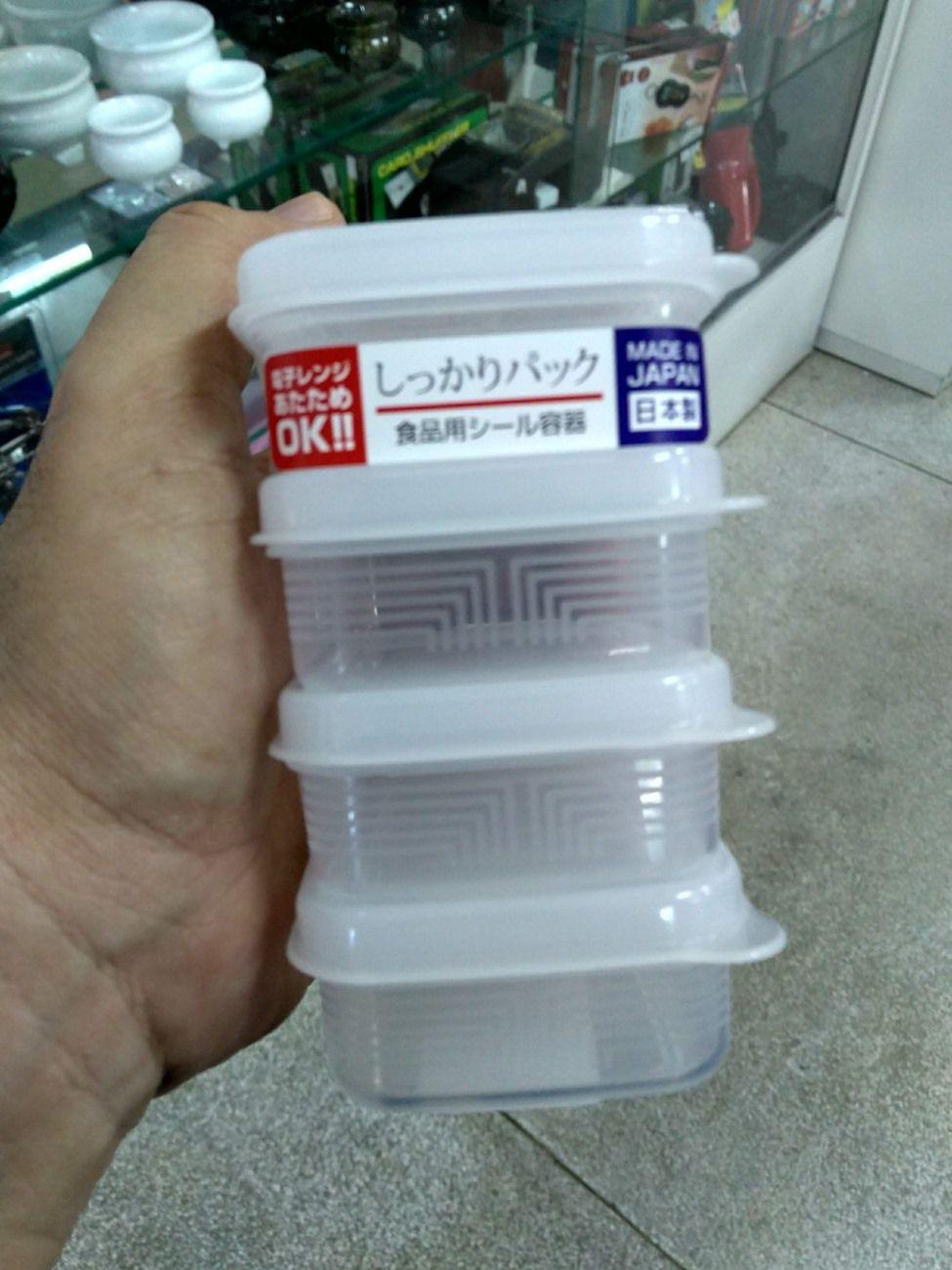 Pote Plástico Mod. R K-202 4 x 100ml