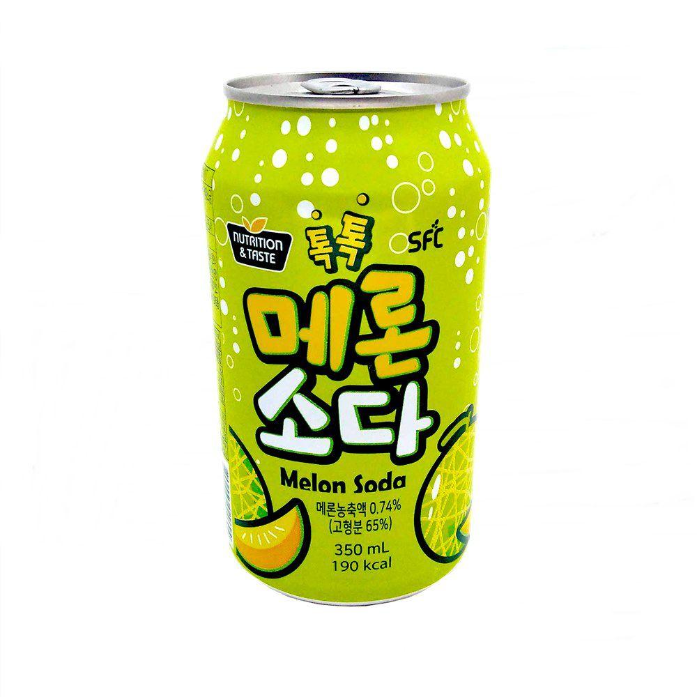 Refrigerante Coreano de Melão Soda 350ml - SFC