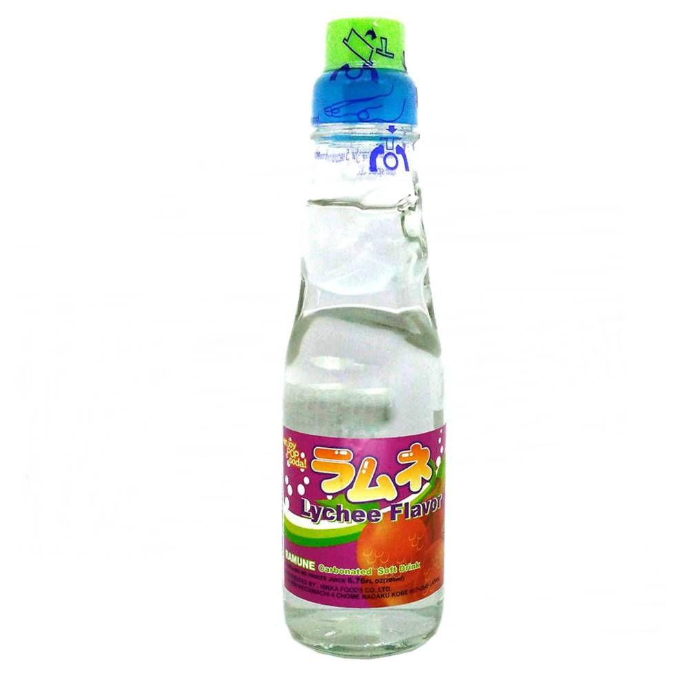 Refrigerante Japonês Ramune 200ml - Lychee