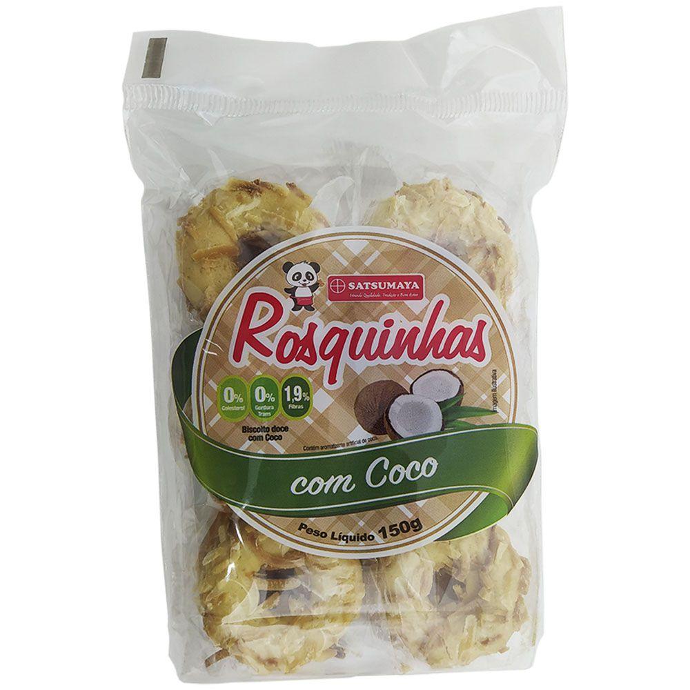 Rosquinhas com Coco 150g Satsumaya