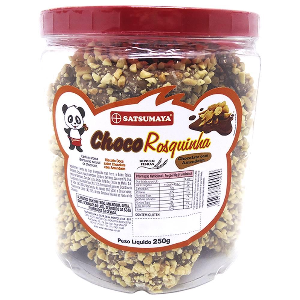 Rosquinhas de Chocolate com Amendoim 250g Satsumaya