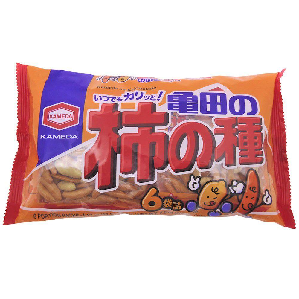 Salgadinho de Arroz com Amendoim 200g Kameda Kakinotane