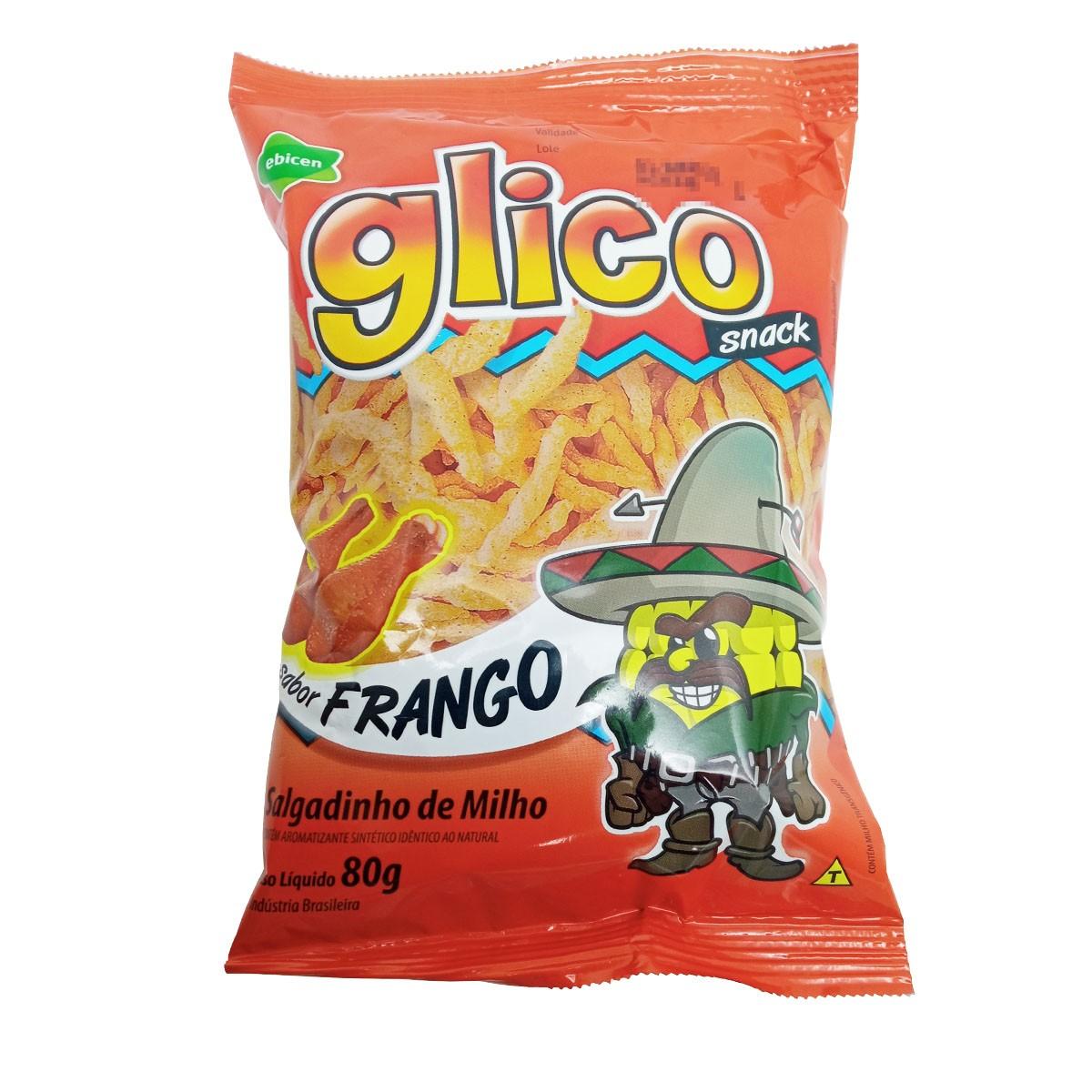 Salgadinho Glico Snack sabor Frango 40g - Ebicen