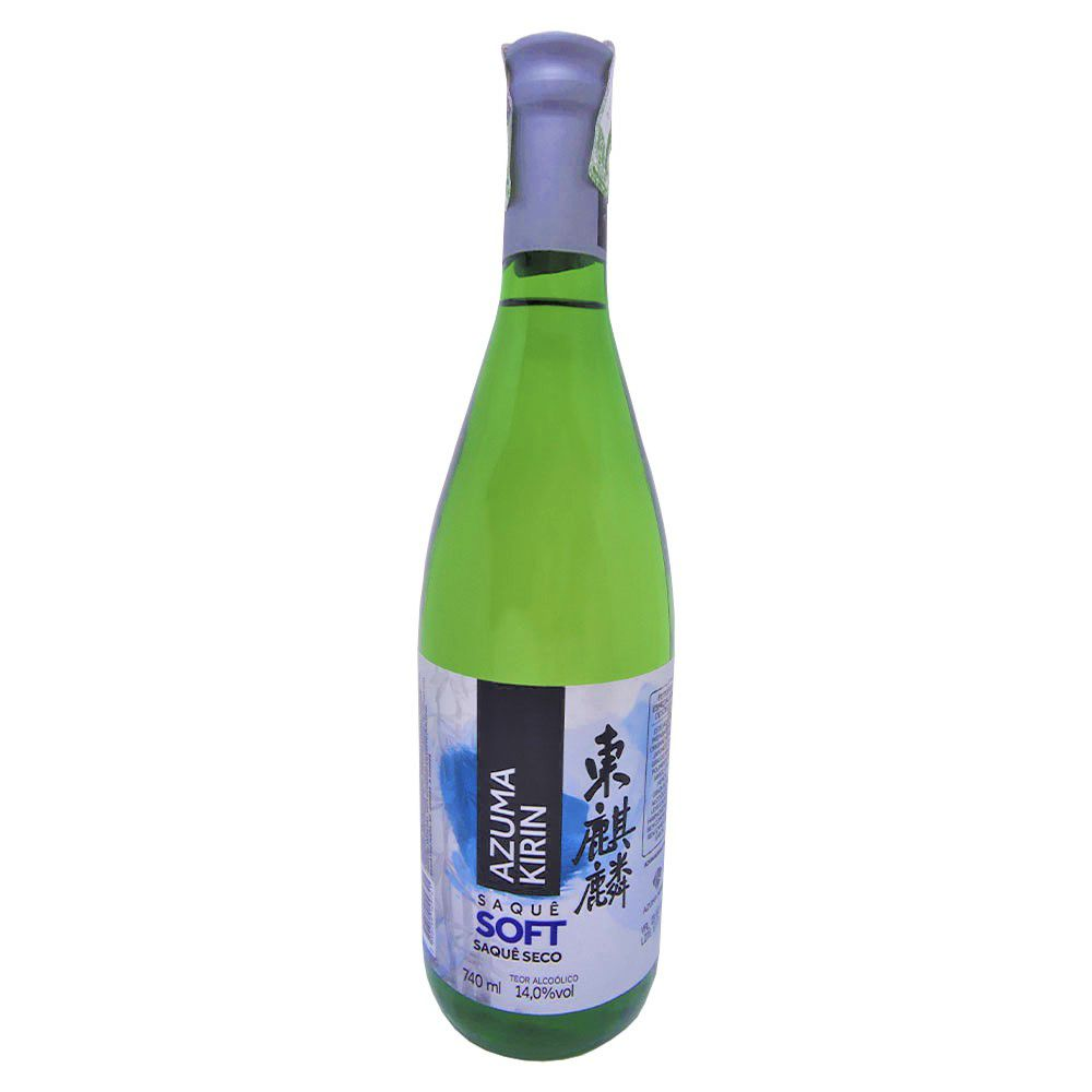 Saquê Azuma Kirin Soft Seco - 740ml
