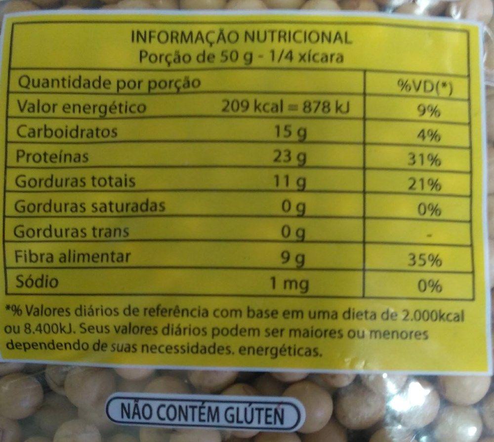 Soja Em Grãos Agronippo 1kg - ( Não Transgênico) Natural