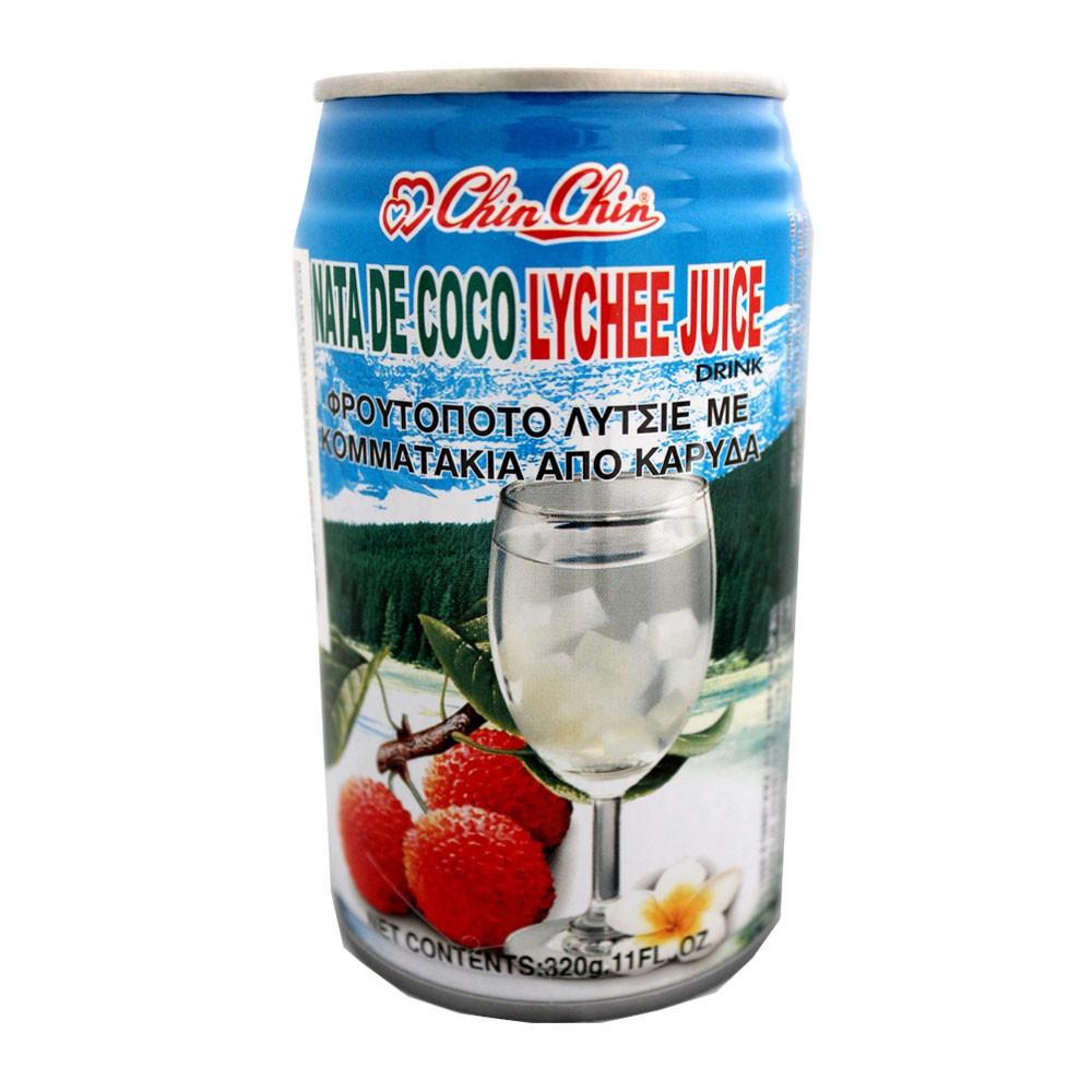 Suco de Lichia com Nata de Coco 315ml - Chin Chin
