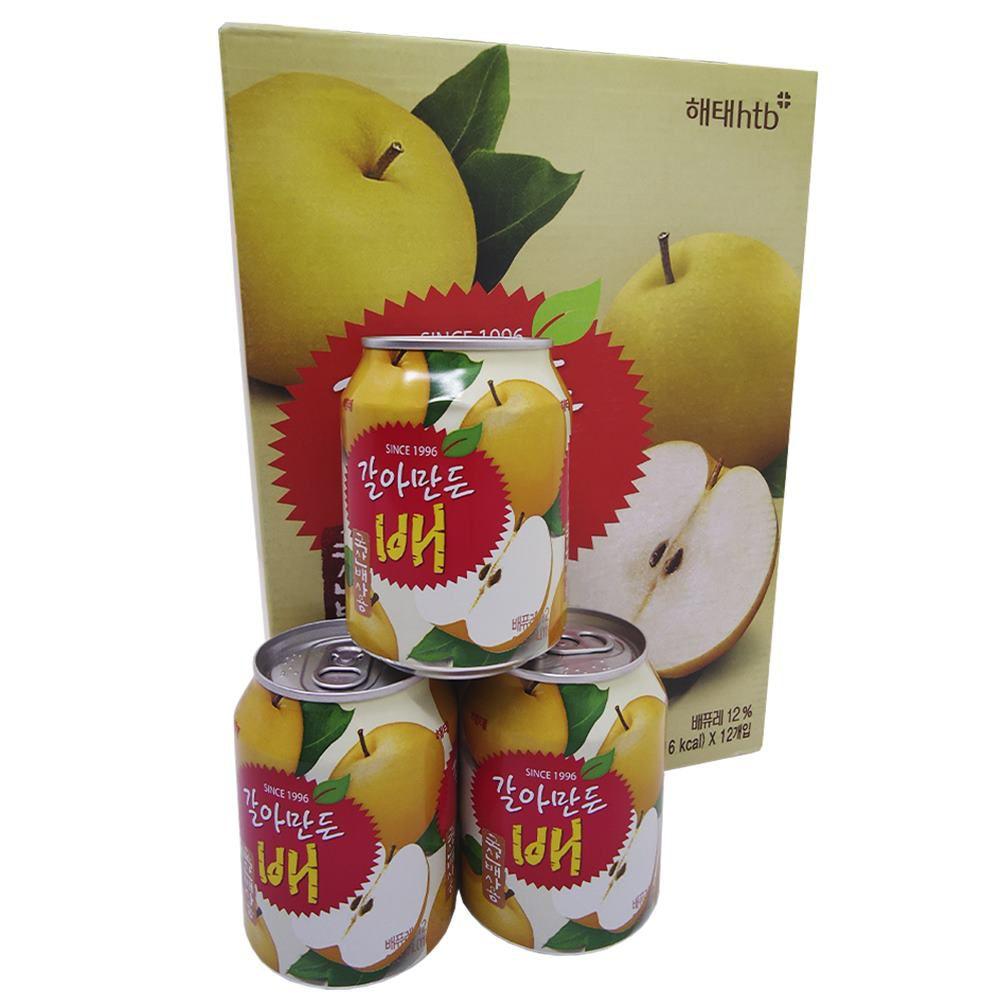 Suco de Pera Coreana 238ml Caixa com 12 latas - Haitai