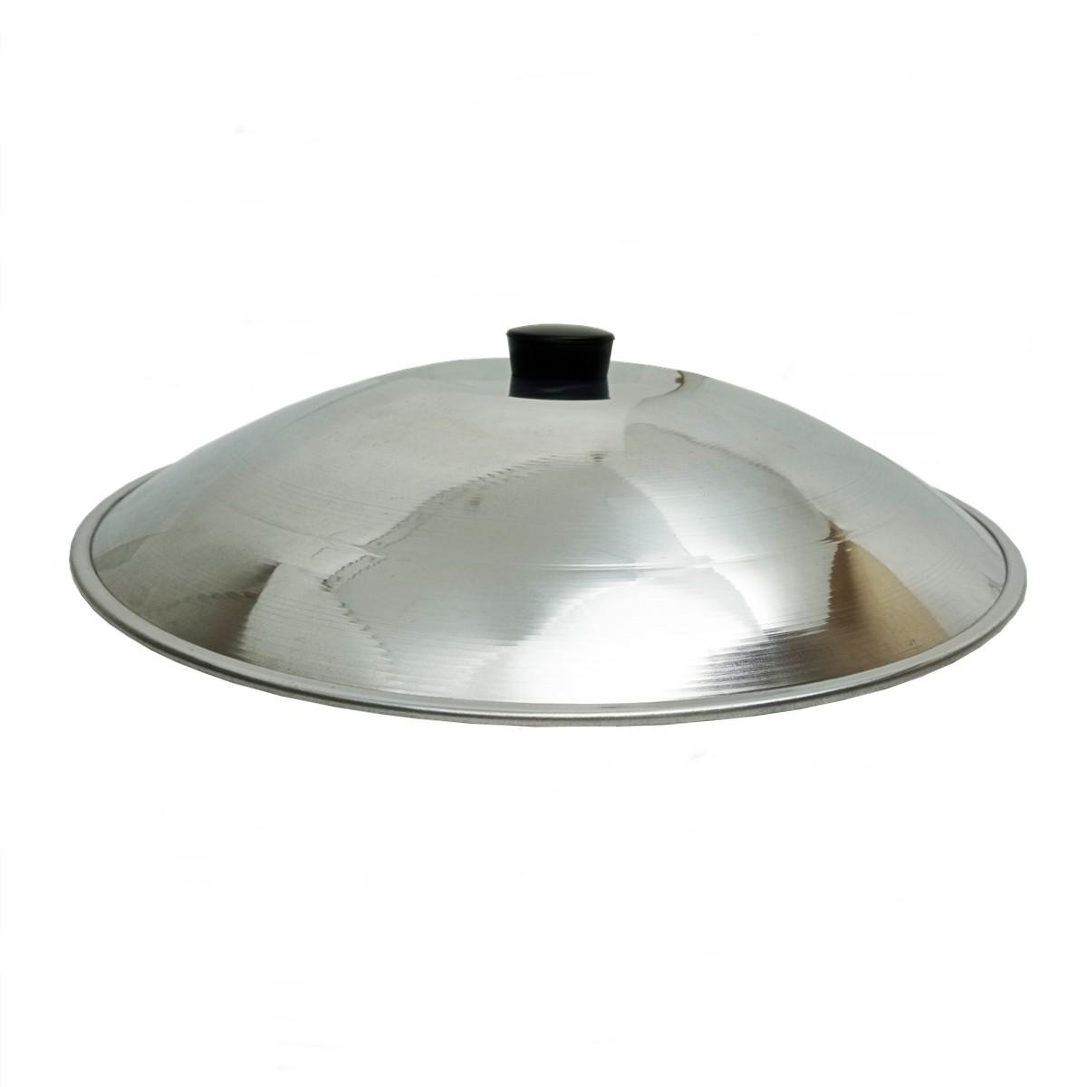 Tampa de Alumínio para Wok Tacho 37 41 36,5cm - Torki