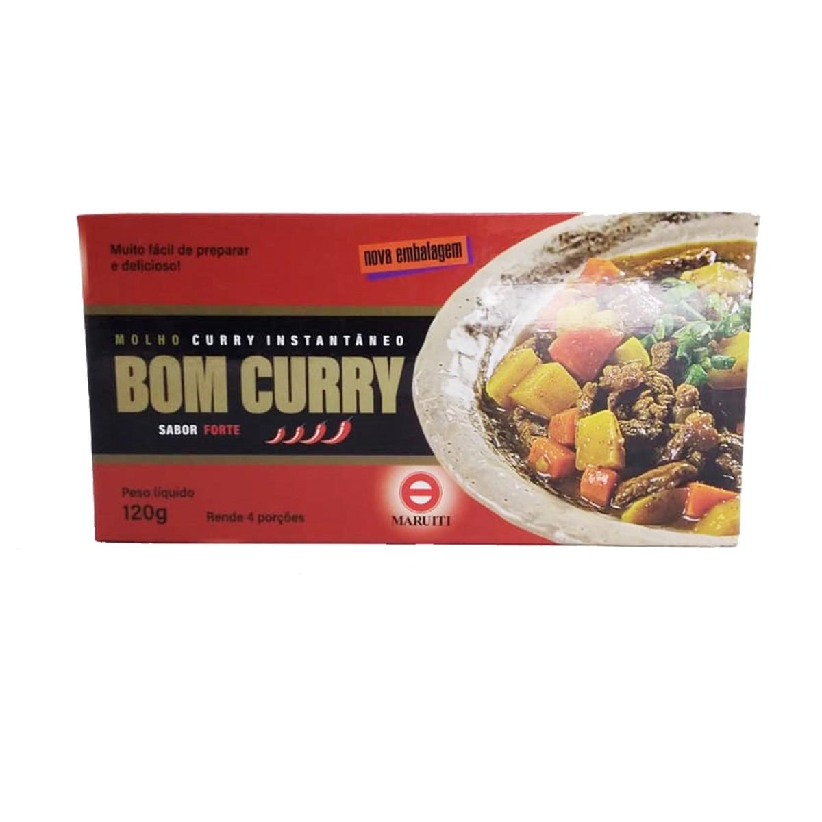 Tempero Bom Curry Sabor Forte 120g - Maruiti