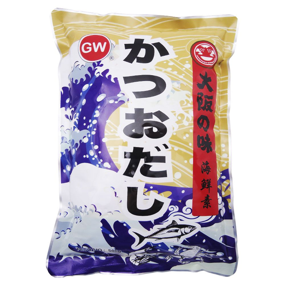 Tempero de Peixe Bonito Dashinomoto 500g GW