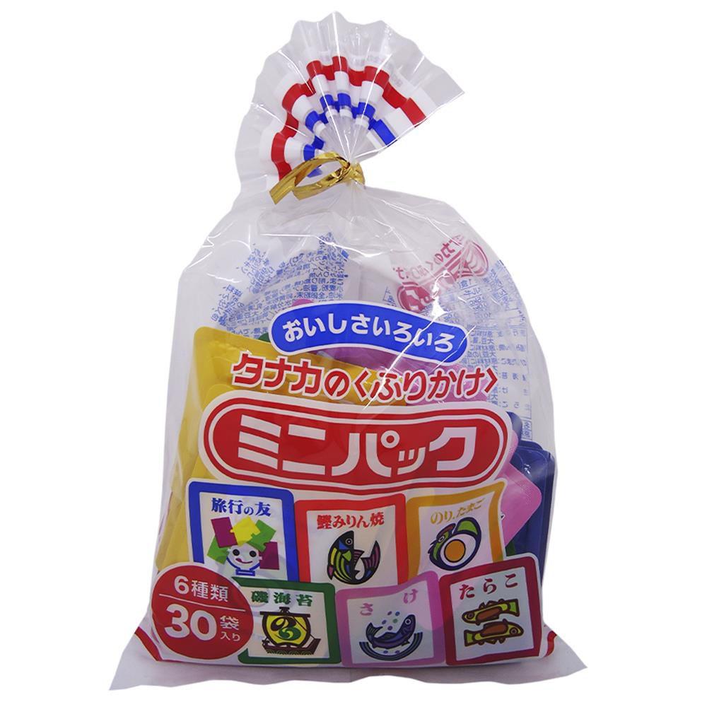 Tempero Furikake Mini Pack com 30 unidades