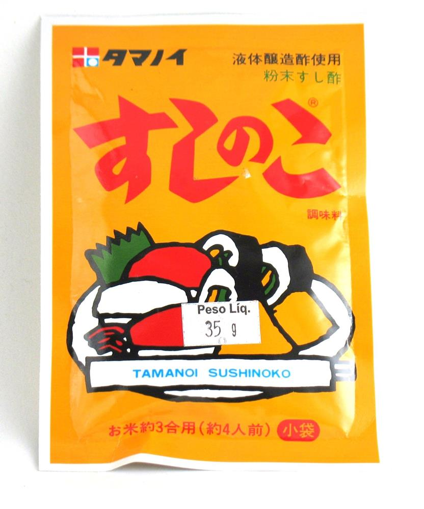 Tempero pronto para Sushi Sushi no ko 35g - Tamanoi