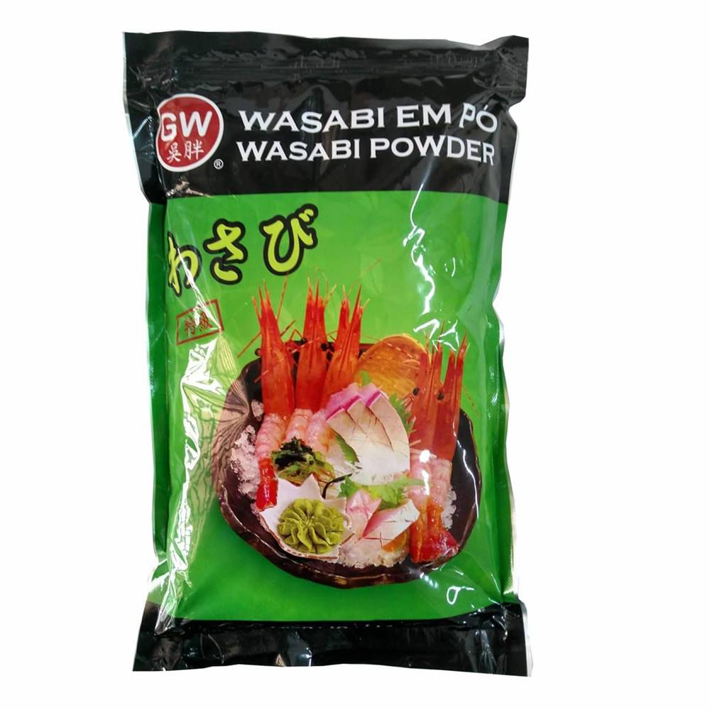Tempero Raíz Forte Wasabi em Pó 1Kg GW