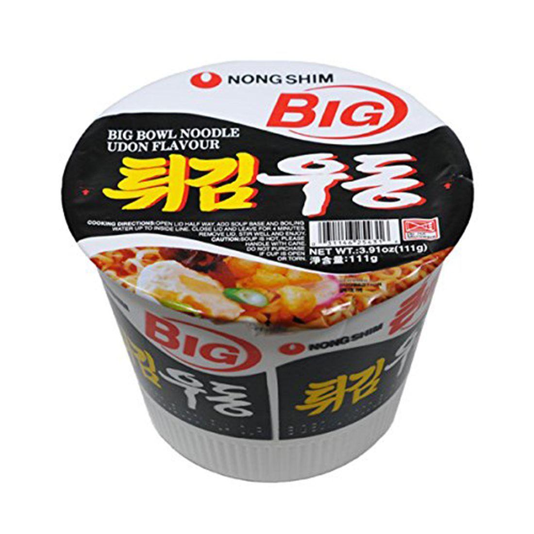 Tempura Udon Cup Noodle BIG Nong Shim 111G