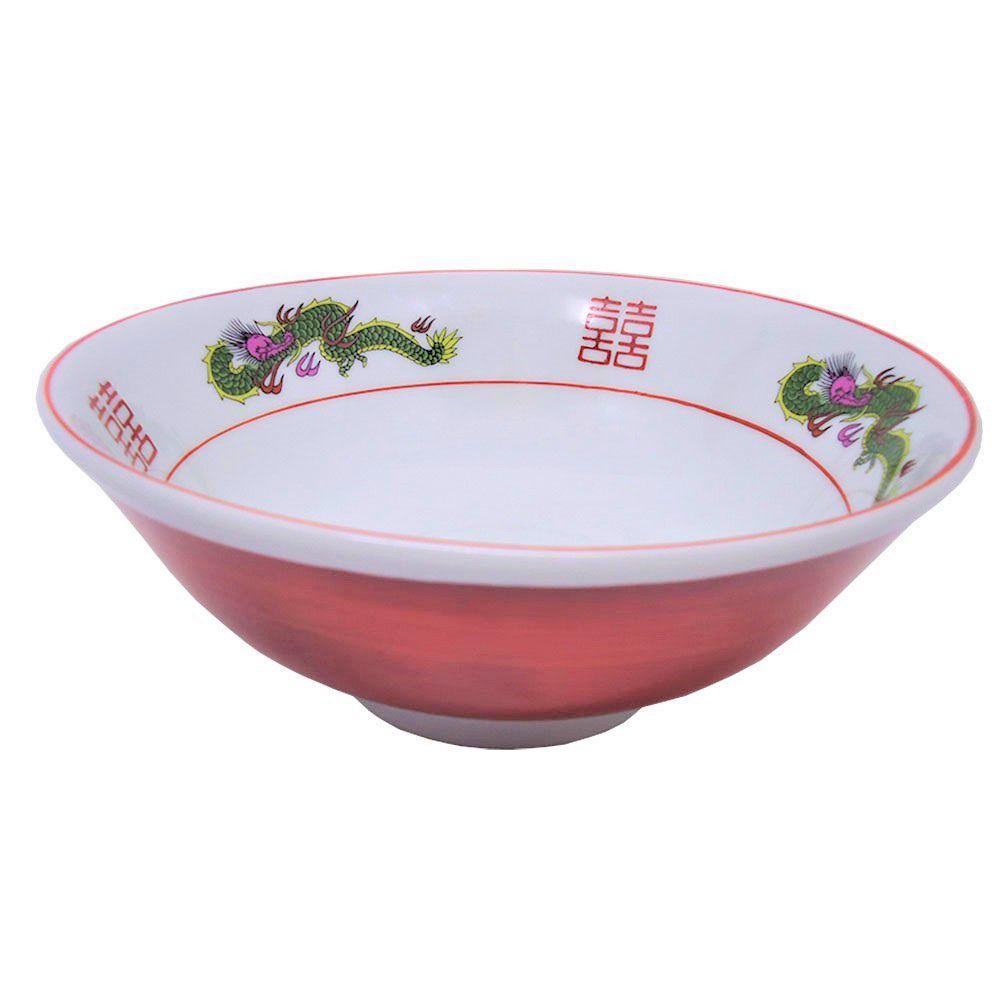 Tigela de Porcelana para Lamen 20x8cm