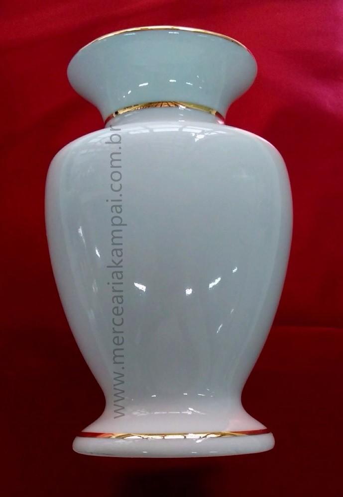 Vaso para Altar - Branco com Ouro PO-90