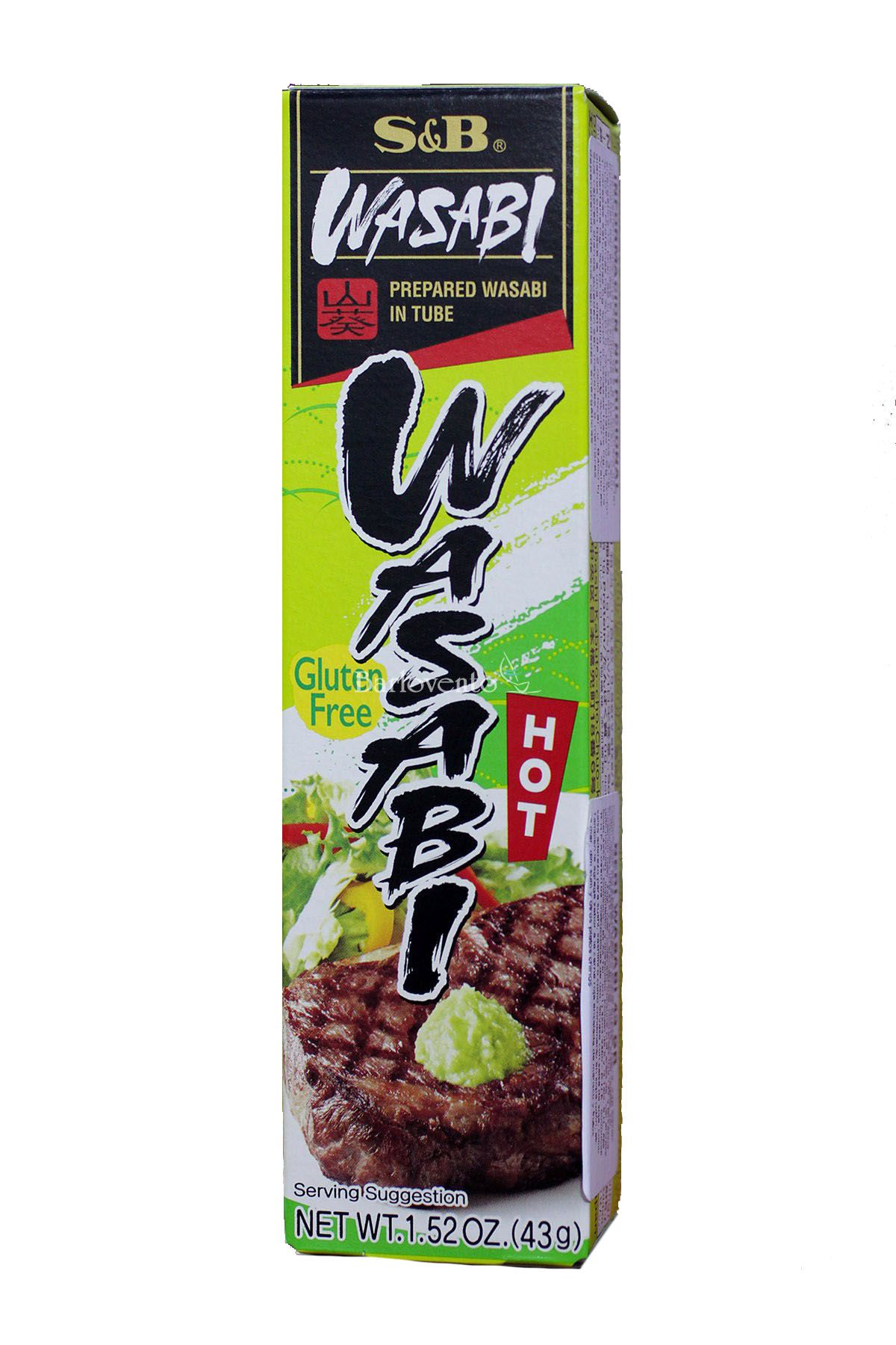 Wasabi Raíz Forte Neri Wasabi 43gr S&B