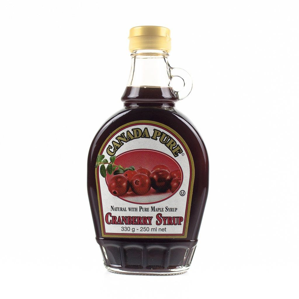 Xarope Maple Cranberry Syrup 250ml - Canada Pure
