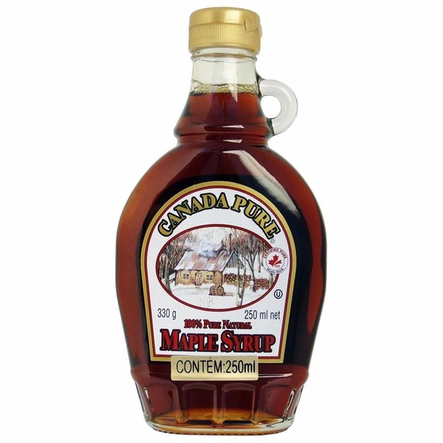 Xarope Maple Syrup 100% Natural 250ml - Canada Pure