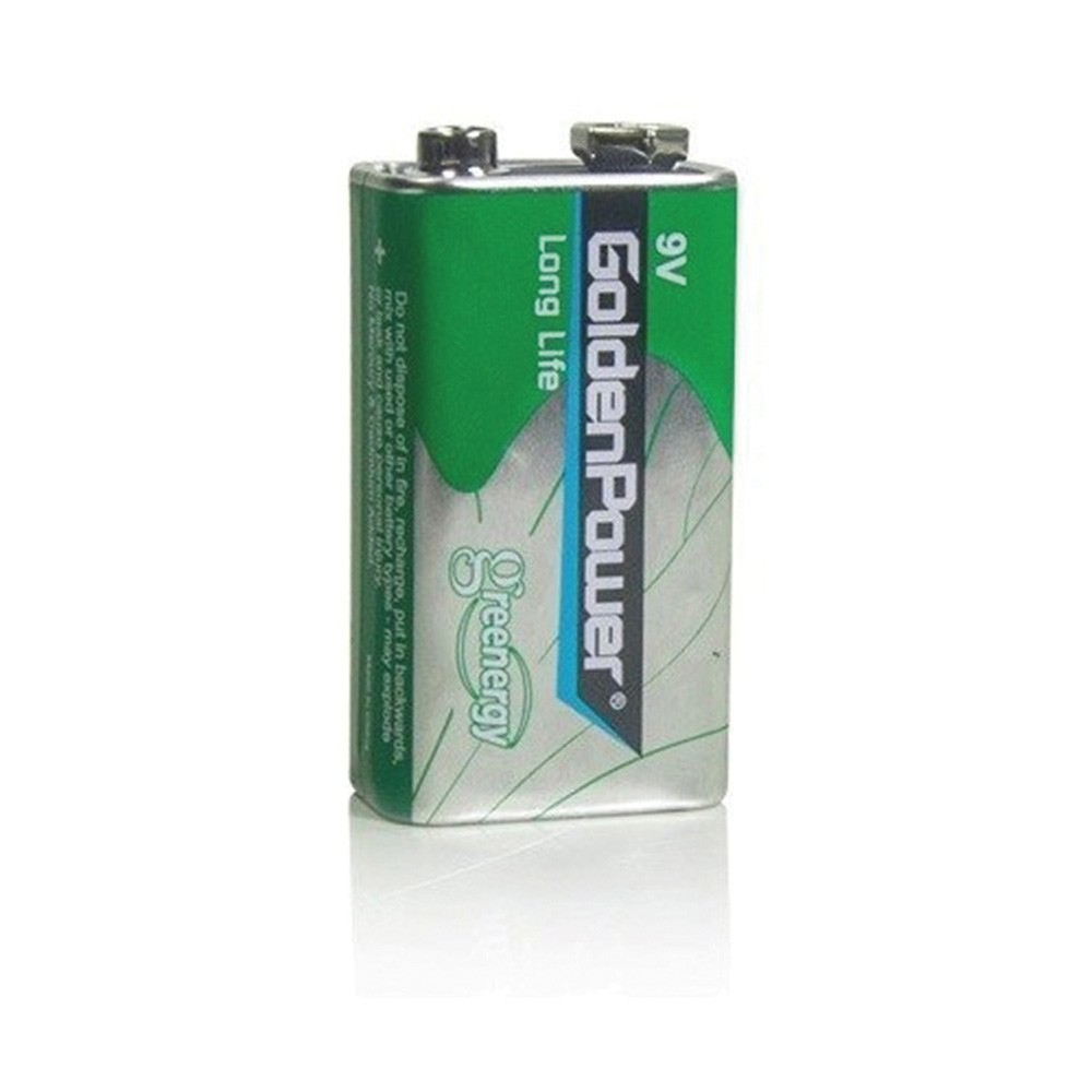 Bateria 9V 6F22 Long Life Golden Power