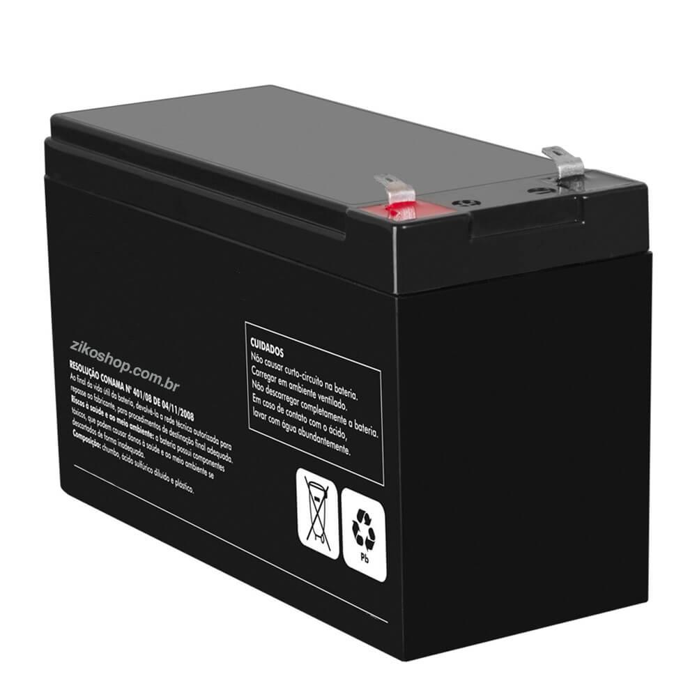 Bateria para centrais de alarme 12V-7.0Ah/20h