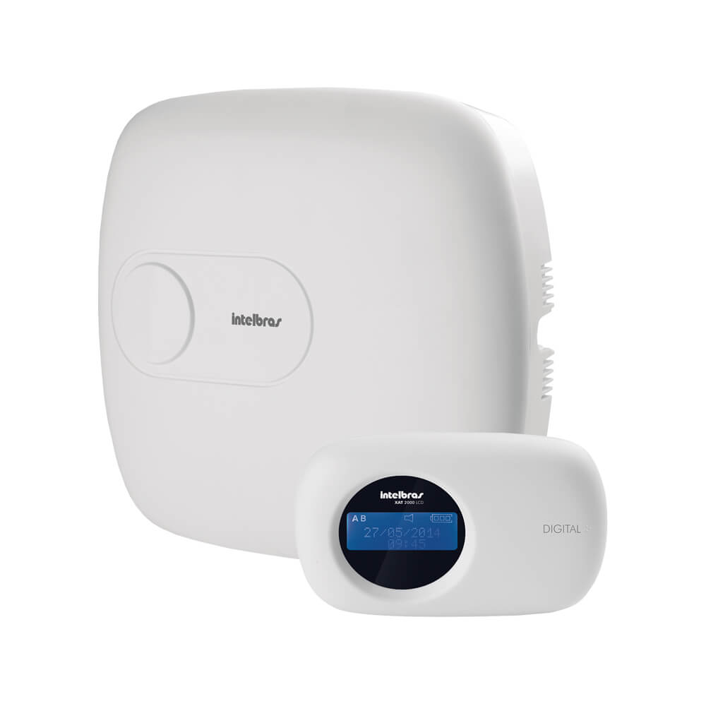 Central de Alarme Intelbras AMT 4010 SMART, monitorada, até 64 zonas