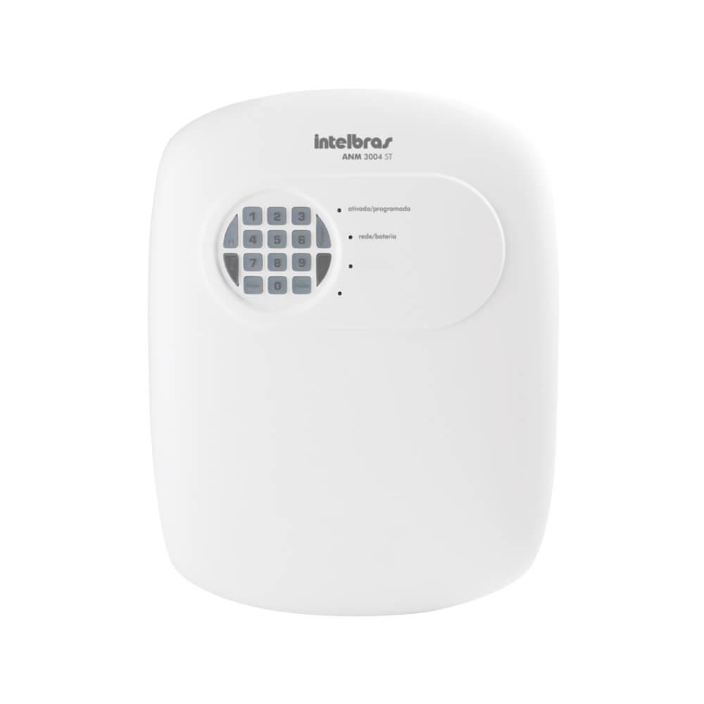 Central de Alarme Intelbras ANM 3004 ST, 4 Zonas Mistas com Discadora