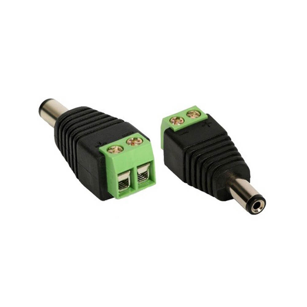 Conector P4 Macho Com Borne (Parafuso)