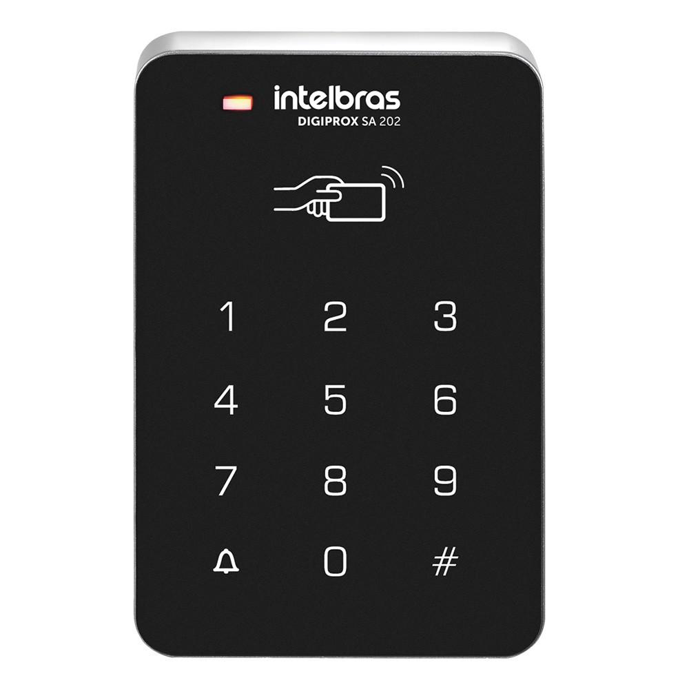 Controle de Acesso Intelbras Digiprox SA 202 - RFID ou senha