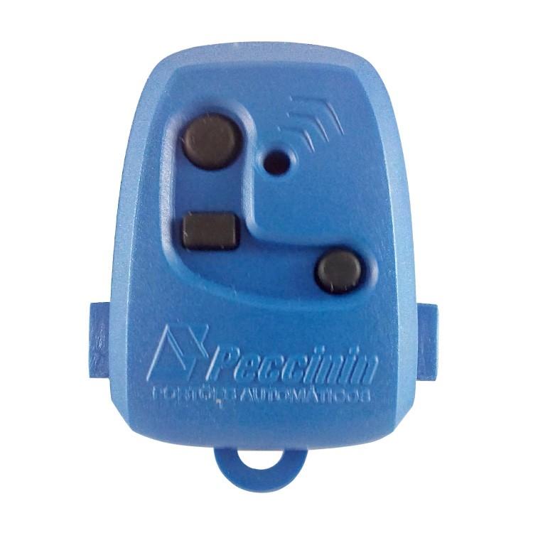 Controle Remoto Digital TX 3C Peccinin 433.92Mhz Azul