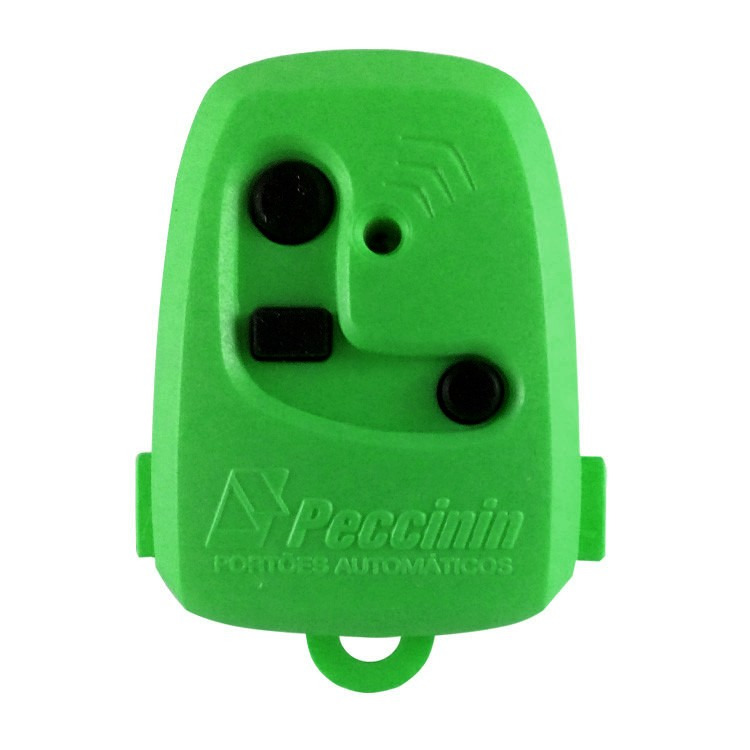 Controle Remoto Digital TX 3C Peccinin 433.92Mhz Verde