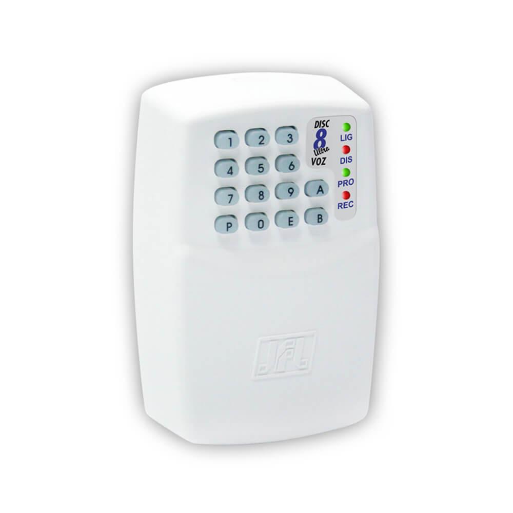 Discadora JFL Disc 8 Voz para Alarme e Cerca Elétrica Disca para até 8 números