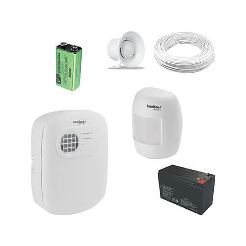 KIT Alarme Intelbras 1 Sensor Sem Fio - Grátis Bateria