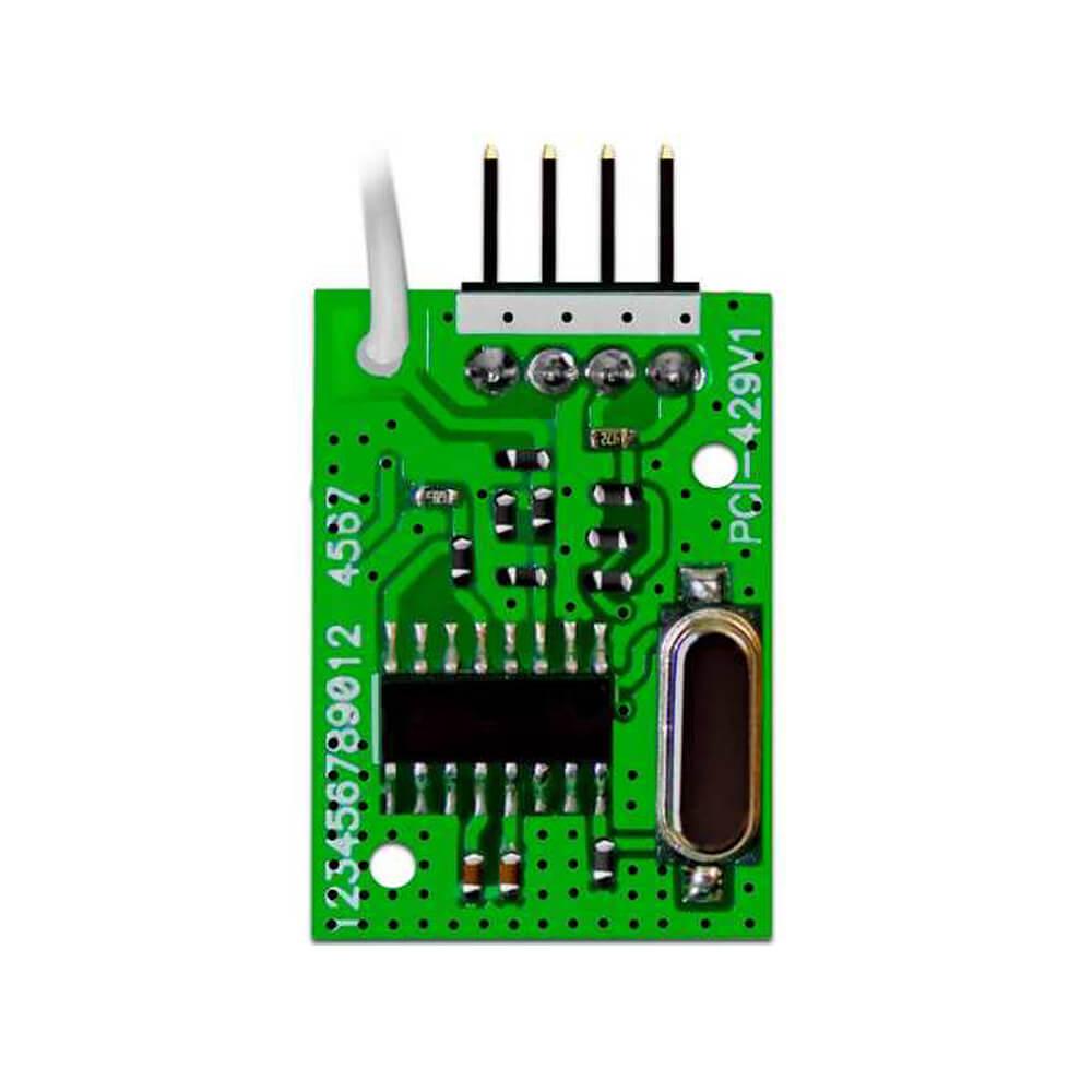 Módulo JFL MRF-01 para adição de controle remoto e sensor sem fio 433MHz para teclado TEC-300