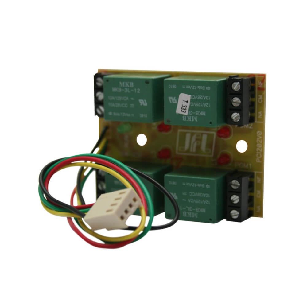 Módulo PGM JFL Comandos Remotos Compatível Centrais Alarme Active
