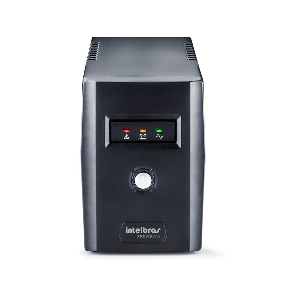 Nobreak Intelbras XNB 720, 720 VA, entrada e saída 220v