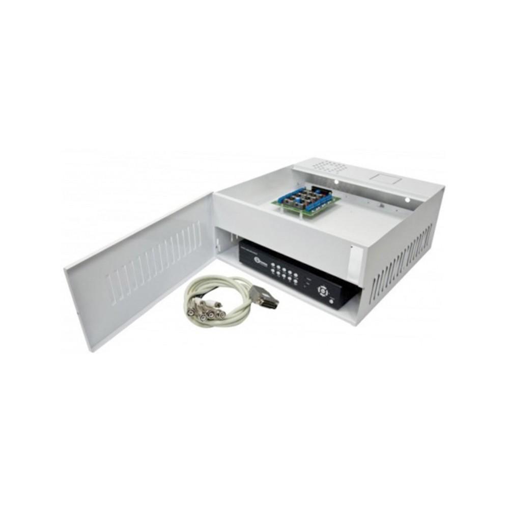 Rack Mini Iron House Onix Security, 4 Canais HD (HDCVI / HDTVI) - (Cod. 2994)