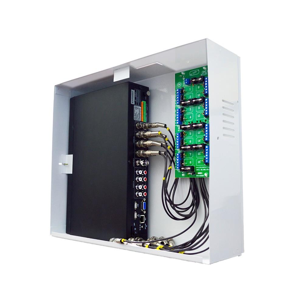 Rack Orion HD 3000 Onix Security, 16 Canais, Horizontal, Híbrido (HD e Analógico) - (Cod. 3178)