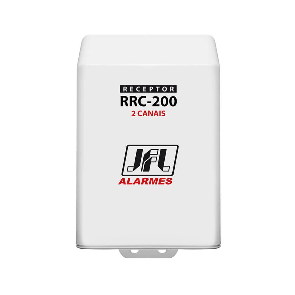 Receptor Programável JFL RRC 200 2 Canal (Abertura e Fechamento) com alcance de até 100m sem obstáculos 433mhz
