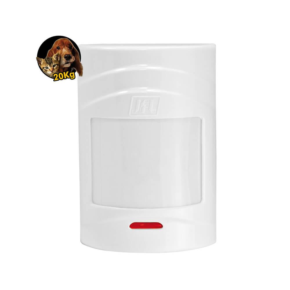 Sensor JFL IRS 430i Infravermelho sem Fio com cobertura de 12mts e ângulo de 90º Transmissão de até 100 metros