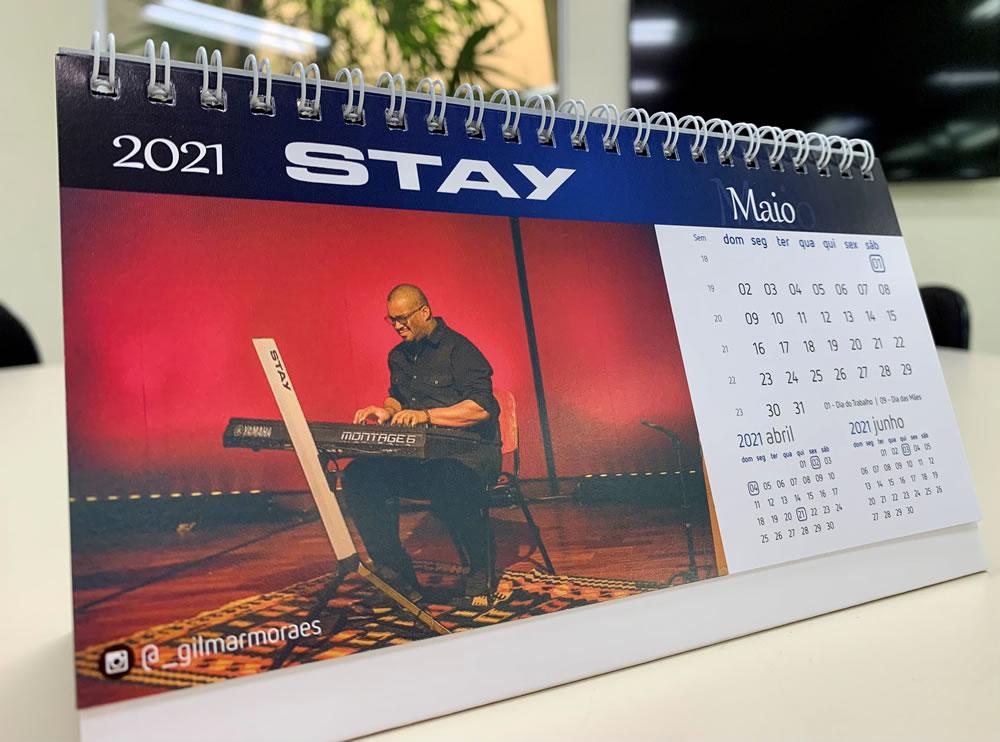 CALENDÁRIO STAY MUSIC 2021