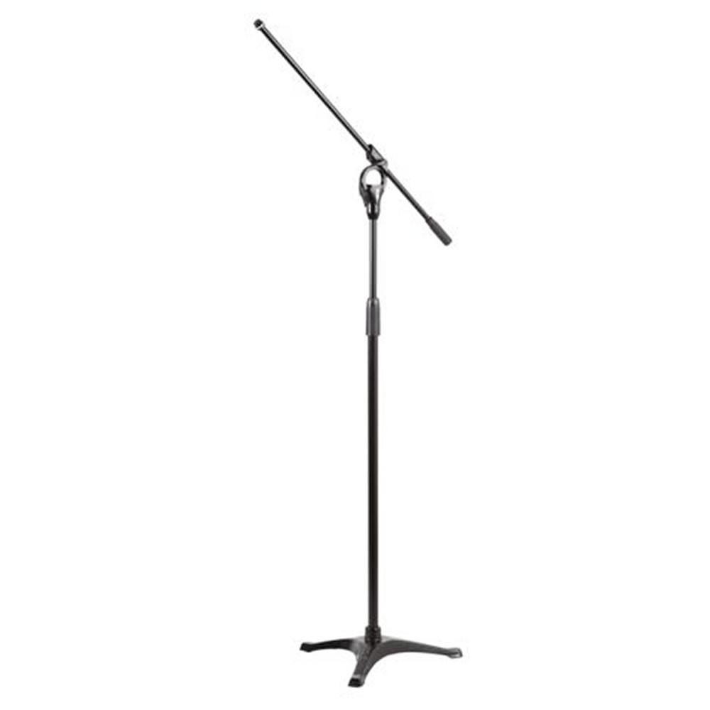 Pedestal de Microfone Stay Modelo Girafa com Base de Ferro