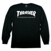 Camiseta Manga Longa Thrasher Magazine Skate Mag Black