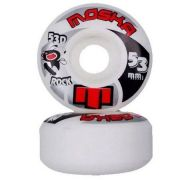 Roda Moska Rock White 53d - 51mm/ 52mm / 53mm/ 54mm / 55mm
